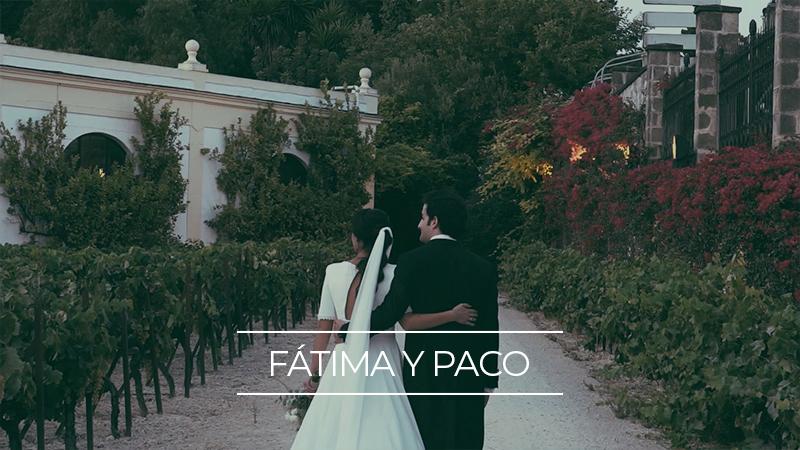Fátima y Paco